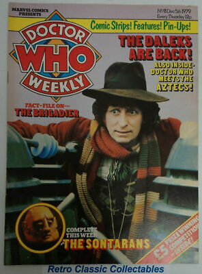Doctor Who Weekly  #8 - Dec. 5th 1979 - Marvel UK - (W2303)