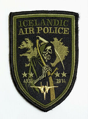 USAF 493 FS Fighter Squadron LAKENHEATH F-15 Icelandic Air Commander patch