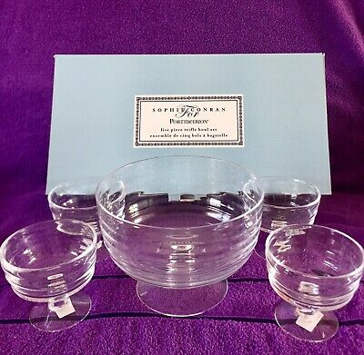 Sophie Conran For Portmeirion, 5 Piece Trifle Bowl Set, New & Boxed.