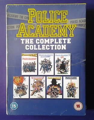 Police Academy    the complete collection    BRAND  NEW