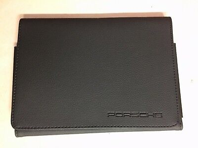 Porsche 911, Boxster, Cayenne Service Record Book & Owners Manual Storage Wallet