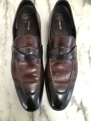 43ad7f97191 Tom Ford Leather Loafers Men s Size 9   Box - Retail   1