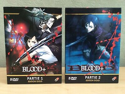Manga Blood+ Part 1 & Part 2 10 x DVD Edition Gold Box Sets, Anime. Last Vampire