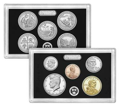 2019-S 10 Coin SILVER Proof Set w/box & COA U.S. Mint (NO EXTRA W CENT)  LIVE