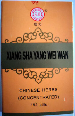 4 packs, Xiang Sha Yang Wei Wan (Tablets,Pills) Concentrated pills, High Quality