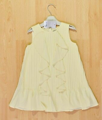 Next Baby Girl Yellow Blouse Top 9-12 months Brand new