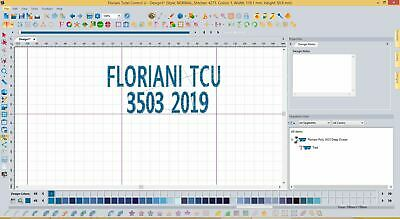 floriani total control u embroidery software