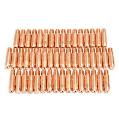 50Pcs 0.8mmx6mm Copper Contact Tip For MB24 MIG MAG Welding Welder Torch B6Q6