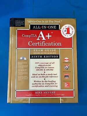 CompTIA A+ Certification All-in-One Exam Guide, Ninth Edition new