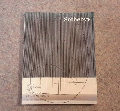 Sotheby's Auction Catalogue New York 2014, Latin American Art, Excellent