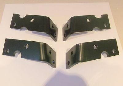 Willys Jeep trailer 1/4T Bantam new light brackets left and right post WW2 style