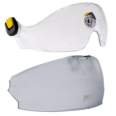 Petzl VIZIR face shield with Protector Garage for Vertex & Strato Helmet
