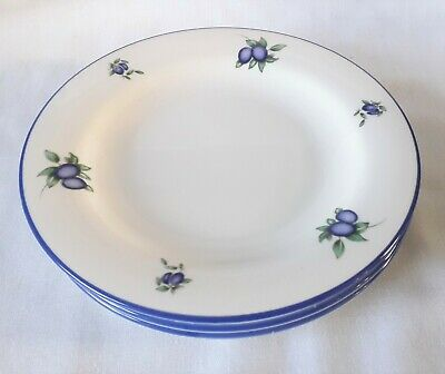 Royal Doulton Blueberry Tea Plates x 3