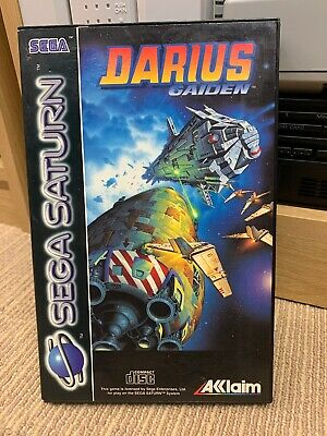 Darius Gaiden *box Only*sega Saturn
