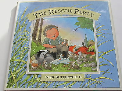 The Tales from Percy's Park: The Rescue Party by Nick Butterworth (Paperback, 20