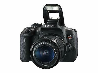 Canon EOS Rebel T6i Digital SLR Camera With Canon 18-55mm EF-S IS STM Lens