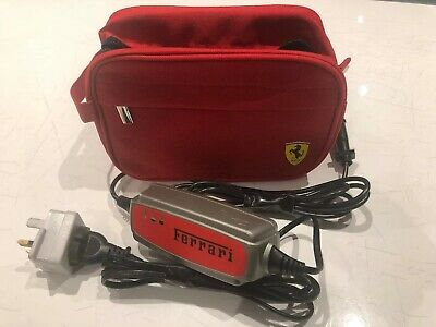Genuine Ferrari Battery Charger OEM And Bag