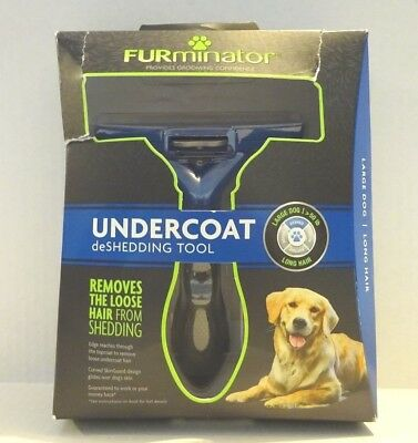 FURMINATOR DESHEDDING TOOL FOR LARGE DOGS LONG HAIR (50 Lbs +) **NEW RELEASE**