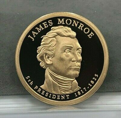 2008-S James Monroe United States Mint Proof Presidential $1 Dollar PROOF Coin