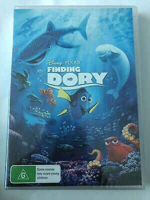 Finding Dory (DVD, 2016) Brand New & Sealed Movie 🍿 Disney Rated G Region 4