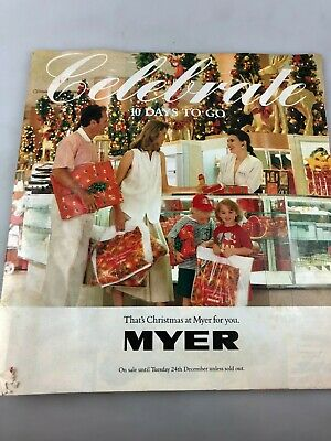 Vintage Myer Catalogue - Possibly Late 1980's - Christmas - Gifts Fashion ++