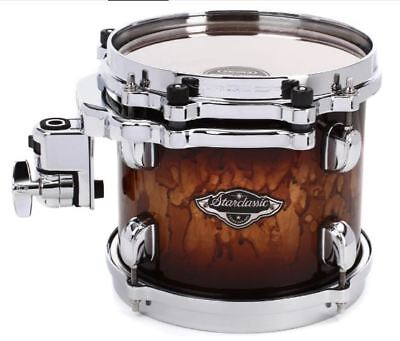 "Tama Starclassic Birch/Bubinga 8"" Mounted Tom/Molten Brown Burst/Brand New"