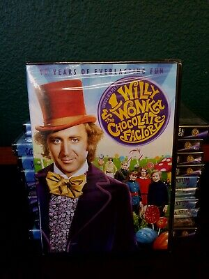Willy Wonka and the Chocolate Factory (DVD, 2011, 40th Anniversay Gene Wilder #1