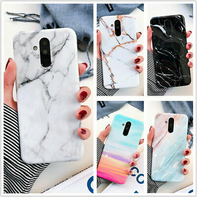 For Huawei P30 Pro Mate 20 pro P30 lite Glossy Cases Classical Marble Pattern