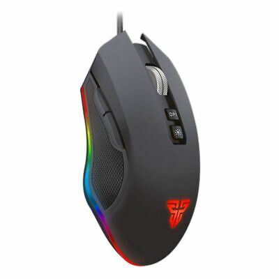 Fantech X5s Computer Wired Mouse 4800 DPI USB Optical PC Gaming Mouse Mice N8B4