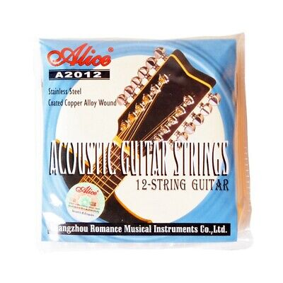 Alice A2012 12 Strings Acoustic Guitar Strings 010-026 Musical Instrument G I8M8