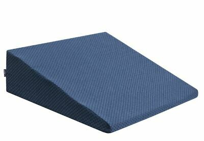 DJMed Wedge Pillow for Acid Reflux Memory Foam Bed Wedge Pillow Cushion Neck Bac