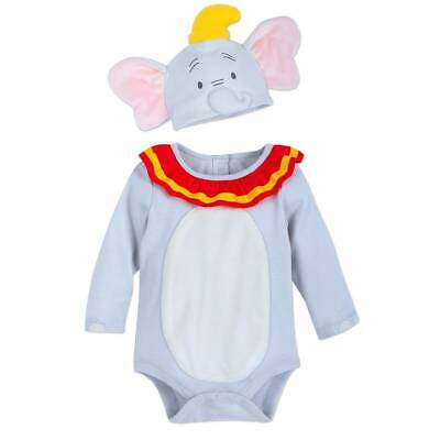 Disney Store Dumbo Elephant Baby Costume Bodysuit Set Many sizes NEW