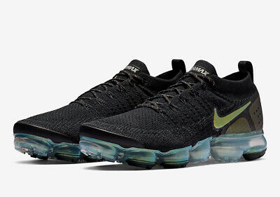 90392b9dad59 NIKE AIR VAPORMAX Flyknit EXPLORER Black Rose Gold 849558-010 sz 9 ...