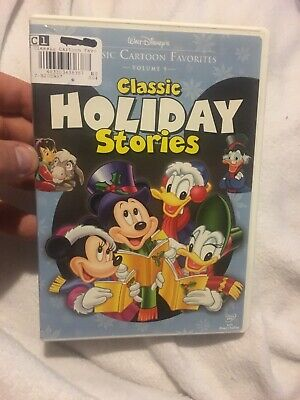 Walt Disneys Classic Cartoon Favorites - Classic Holiday Stories (DVD, 2005)