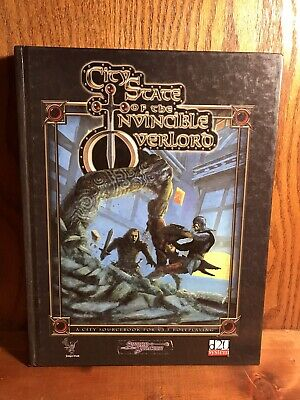 City State of the Invincible Overlord W/ Map Insert D20 D&D Necromancer Dungeons