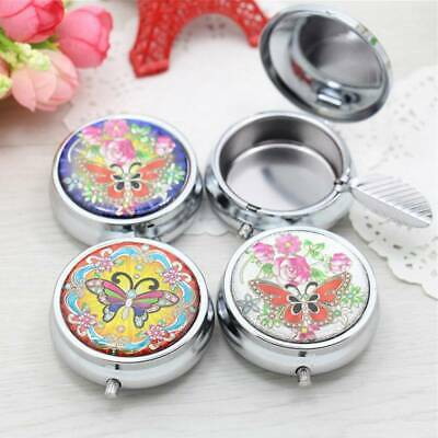 Portable Stainless Steel Ashtray Carrying with a key chain ash tray Random