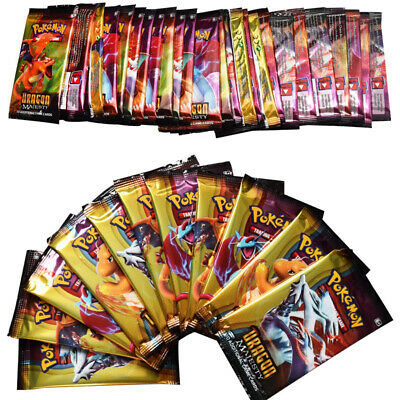Pokemon 324 Dragon Cards GX EX or Holos Cards-Flash Trading Cards Toys Game Gift