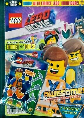 The Lego Movie 2 Magazine Issue #1 ~ New With Lego Toy ~