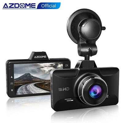 "AZDOME M01 2.5D 3"" IPS 1080P Autokamera Dashcam 170° Weitwinke Video Recorder"