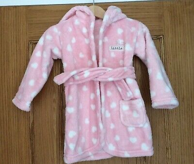 Baby Girls Dressing Gown, 9-12 Months George