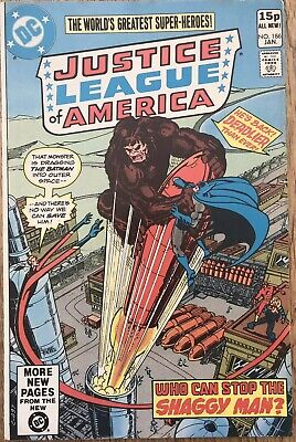 JUSTICE LEAGUE OF AMERICA #186 George Pérez, Gerry Conway 1981
