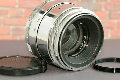 Helios-44 GLOSS (8 blades) Silver Lens MMZ BeLOMO f/2/58mm M39 +adapter ring M42