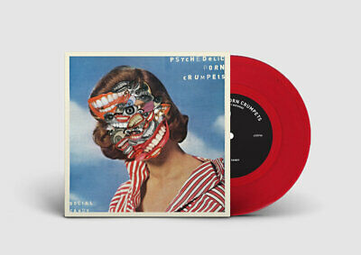 """Psychedelic Porn Crumpets - Social Candy // Vinyl 7"""" limited to 500 on Red"""
