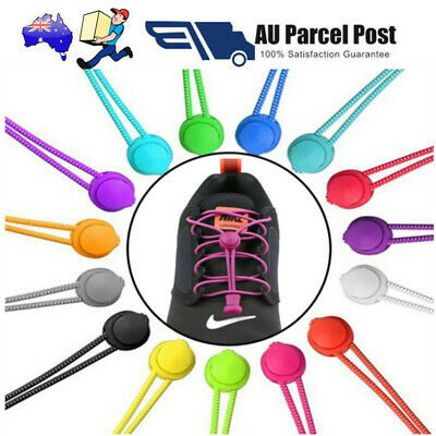 No Tie Elastic Lock Lace Shoelaces for Sneakers Runners