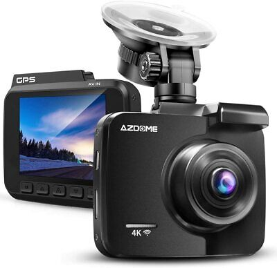 AZDOME Full HD 4K Autokamera Car DashCam GPS WIFI Weitwinkel DVR Car Record