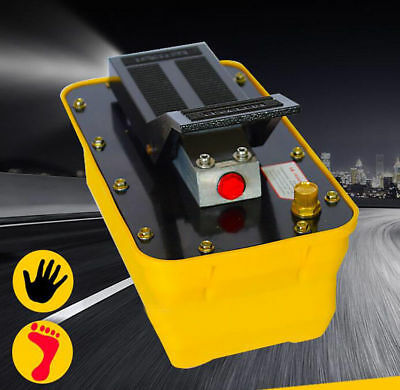 2.3L Girder Correction Pneumatic Hydraulic Foot Pump Air-driven Hydraulic Pump