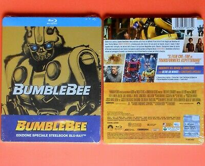 bumblebee steelbook rare metal box limited edition transformers hailee steinfeld