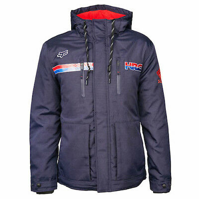 Fox Giacca HRC HONDA PITWEAR PIT ROOSTED BLUE TG M