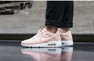 quality design 30134 61663 Nike air Max 90 Ultra 2.0 BR Breathe Unisex Pink Chiffon Trainers UK 8.5