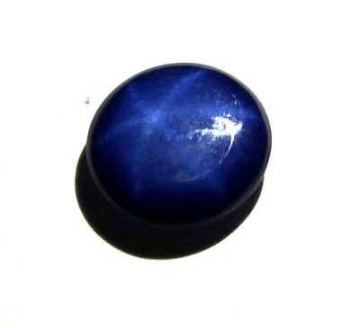 GGL Certified 2.10 Ct Beautiful Natural Six Rays Star Blue Sapphire Loose Gem